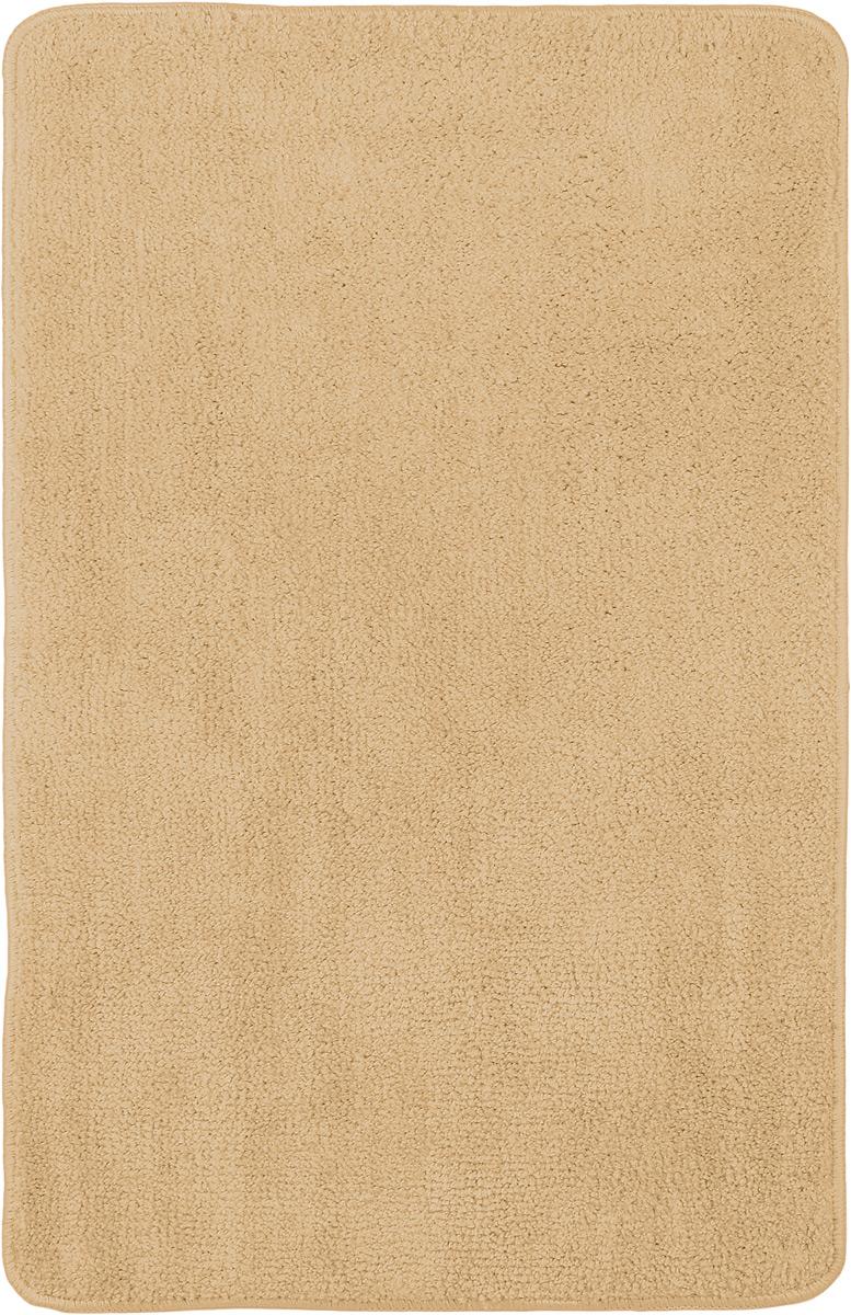 """Коврик для ванной комнаты """"Home Queen"""", цвет: светло-коричневый, 80 х 50 см 57052_ светло-коричневый"""