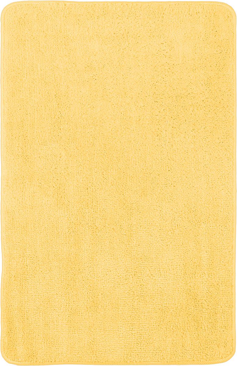 Коврик для ванной комнаты Home Queen, цвет: желтый, 80 х 50 см57052_ желтыйКоврик для ванной Home Queen изготовлен из микрофибры с латексной основой. Волокно микрофибры превосходно впитывает влагу и создает комфортное, мягкое покрытие. Коврик, выполненный в однотонном сочном цвете, создаст уют и комфорт в ванной комнате. Длинный ворс мягко соприкасается с кожей стоп, вызывая только приятные ощущения. Рекомендации по уходу: - стирать в ручном режиме, - не использовать отбеливатели, - не гладить.