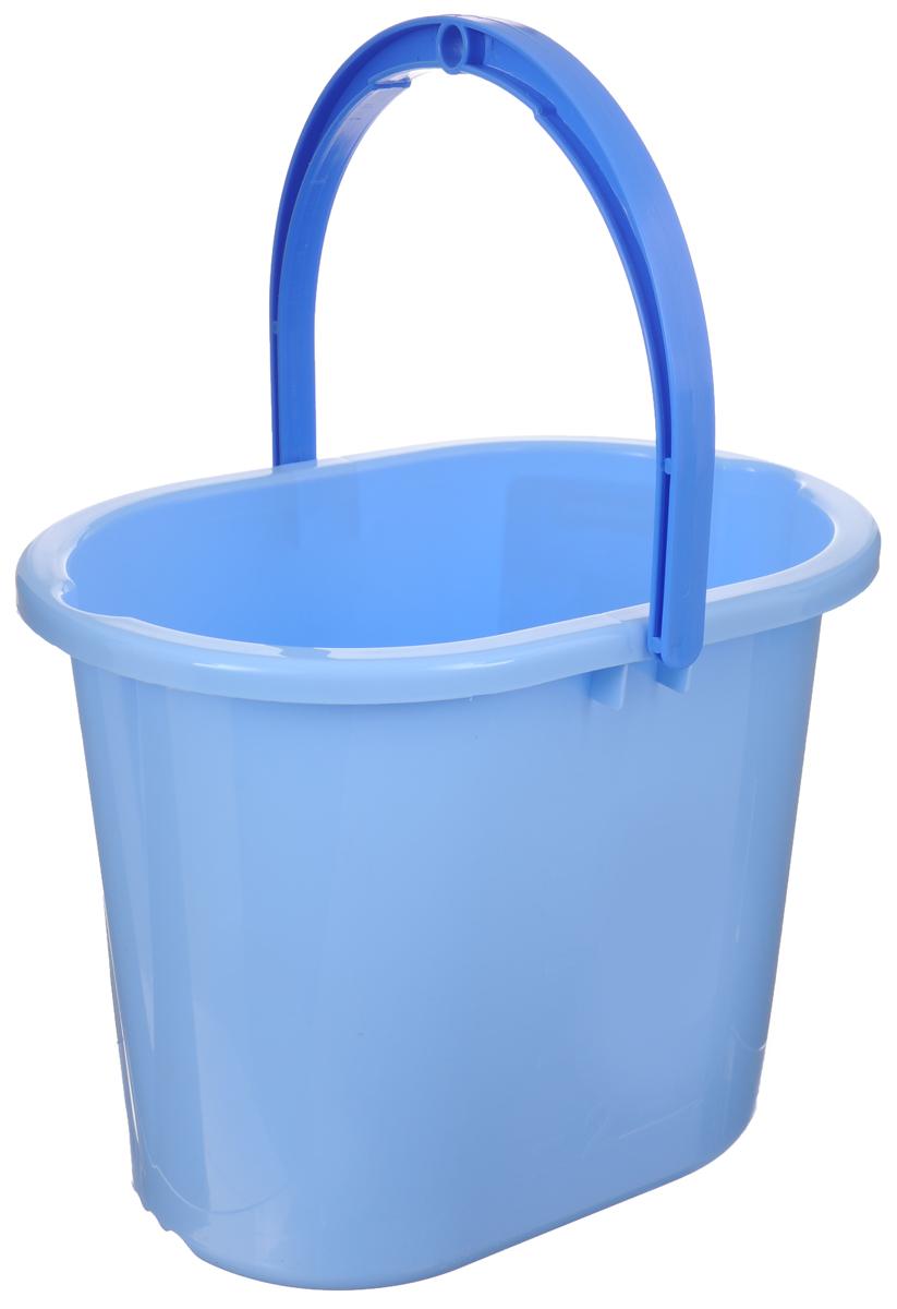 Ведро для мытья полов Hausmann, цвет: голубой, 10 лHM-1081Ведро Hausmann, изготовленное из прочного цветного пластика, порадует практичных хозяек. Оно легче железного и не подвергается коррозии. Для удобного использования ведро оснащено эргономичной ручкой. Такое ведро станет незаменимым помощником в хозяйстве. Размер (по верхнему краю): 34 х 24 см. Высота (без учета ручки): 27 см.