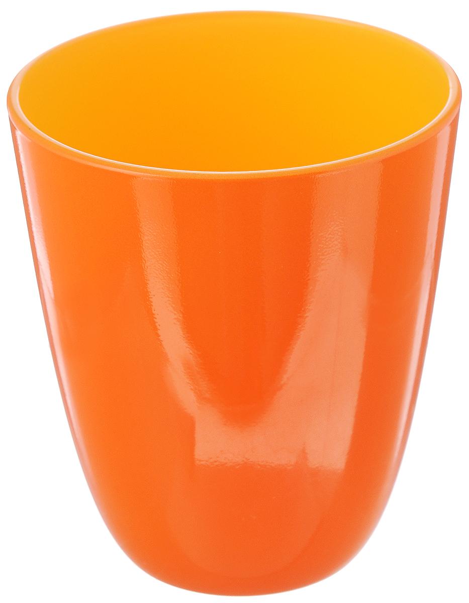 Стакан Luminarc Spring Break, цвет: оранжевый, желтый, 310 млVT-1520(SR)Стакан Luminarc Spring Break изготовлен из высококачественного стекла. Такой стакан прекрасно подойдет для горячих и холодных напитков. Он дополнит коллекцию вашей кухонной посуды и будет служить долгие годы. Можно мыть в посудомоечной машине. Диаметр стакана (по верхнему краю): 8,5 см. Высота: 10 см.