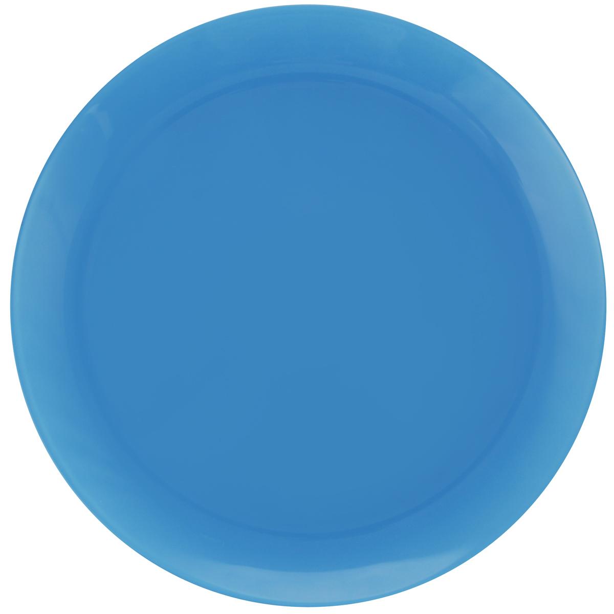 Тарелка обеденная Luminarc Arty Azur, диаметр 26 смH7257Обеденная тарелка Luminarc Arty Azur, изготовленная из высококачественного стекла, имеет изысканный внешний вид. Яркий дизайн придется по вкусу и ценителям классики, и тем, кто предпочитает утонченность. Тарелка Luminarc Arty Azur идеально подойдет для сервировки стола и станет отличным подарком к любому празднику. Можно использовать в микроволновой печи и холодильнике, а также мыть в посудомоечной машине. Диаметр тарелки по верхнему краю: 26 см.