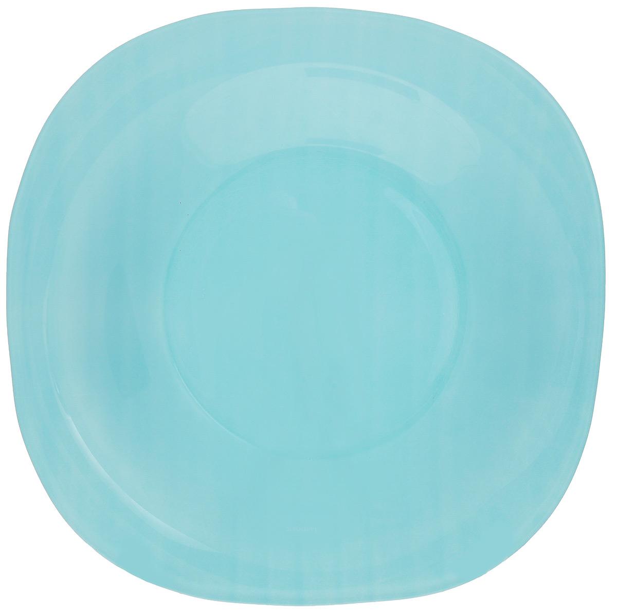 Тарелка глубокая Luminarc Colorama, диаметр 20,5 смVT-1520(SR)Глубокая тарелка Luminarc Colorama выполнена изударопрочного стекла и оформлена в классическом стиле.Изделие сочетает в себе изысканный дизайн с максимальнойфункциональностью. Она прекрасно впишется винтерьер вашей кухни и станет достойным дополнениемк кухонному инвентарю. Тарелка Luminarc Colorama подчеркнет прекрасный вкус хозяйкии станет отличным подарком. Диаметр (по верхнему краю): 20,5 см.Высота стенки: 3 см.