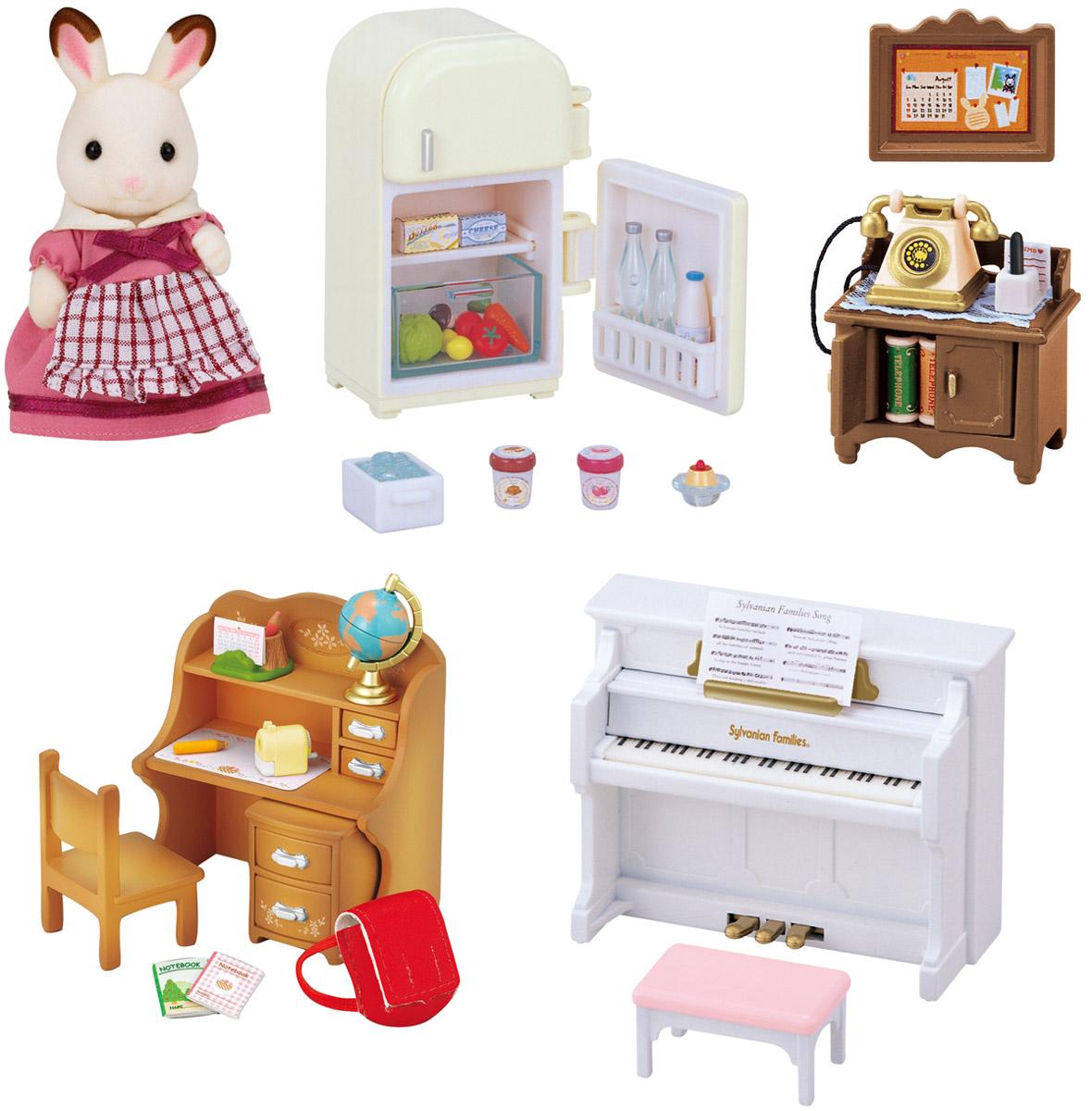 Sylvanian Families Игровой набор Мебель для дома Марии игровой набор sylvanian families холодильник с продуктами 3566