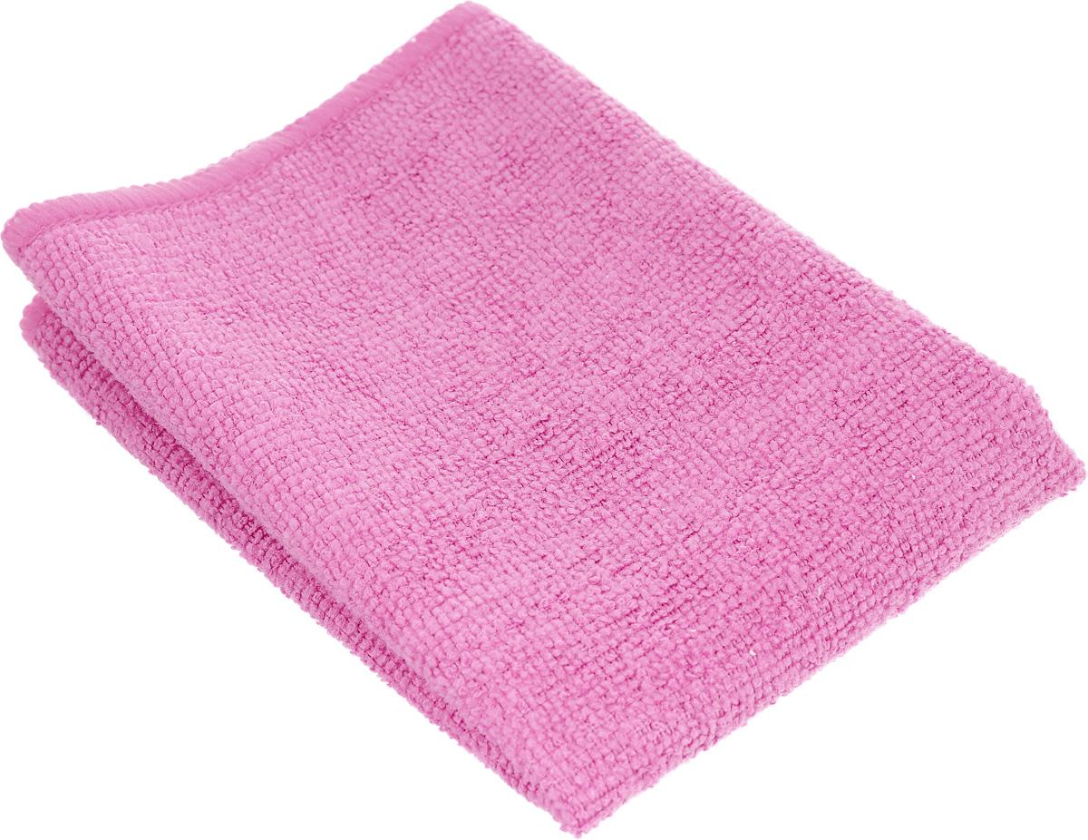 Салфетка универсальная Magic Power, из микрофибры, цвет: розовый, 35 х 30 смS03301004Салфетка Magic Power, изготовленная из микрофибры (75% полиэстера и 25% полиамида), предназначена для сухой и влажной уборки. Подходит для ухода за любыми поверхностями. Благодаря специальной структуре волокон справляется с любыми загрязнениями. Не оставляет разводов и ворсинок. Обладает отличными впитывающими свойствами.Размер салфетки: 35х 30 см.
