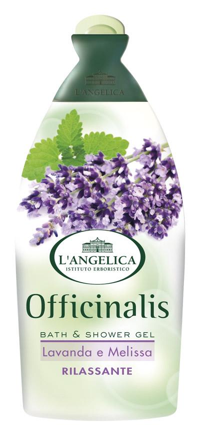 L'angelica (0683) Гель для душа и ванны Лаванда и Мелисса, 500 мл 535-0-09792