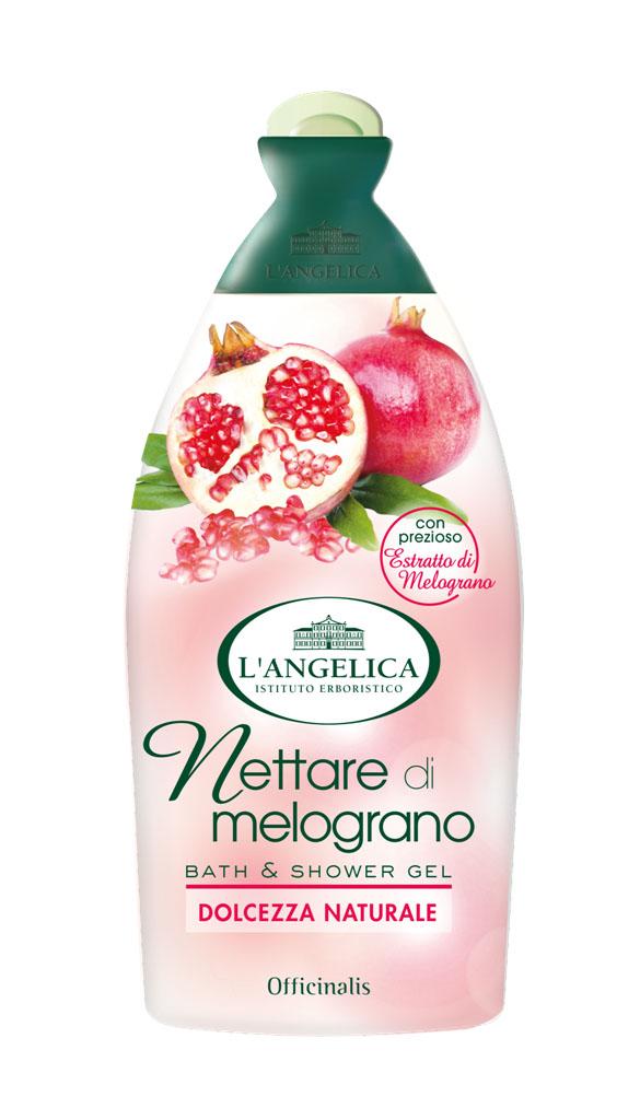 Langelica (8726) Гель для душа и ванны с нектаром граната, 500 мл535-0-11661LANGELICA OFFICINALIS. Гель для душа и ванны с нектаром граната. Гранат с древних времен считался символом вечной молодости.Этот фрукт содержит минералы, витамины, полифенолы, антиоксиданты, борется со старением кожи. Новый гель, благодаря нектару граната, доставит вашей коже истинное удовольствие, сделает ее сияющей и шелковистой, оставит на ней приятный аромат.