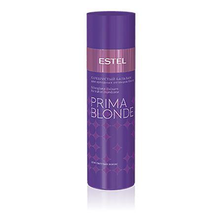 Estel Prima Blonde - Серебристый бальзам для холодных оттенков блонд 200 млPB.2Тип волос: Осветленные Проблемы волос: Желтый оттенок Серебристый бальзам, деликатно ухаживая за волосами, придает им желанный холодный оттенок. Бальзам поможет навсегда забыть о желтом нюансе, подчеркнет холодное сияние любимого цвета, а также сделает волосы мягкими и послушными. Благодаря Серебристому бальзаму волосы струятся и завораживают своим сиянием! Результат: Фиолетовые пигменты – нейтрализуют желтый нюанс, Пантолактон – увлажняет волосы, Ниацинамид – придает волосам здоровый вид.