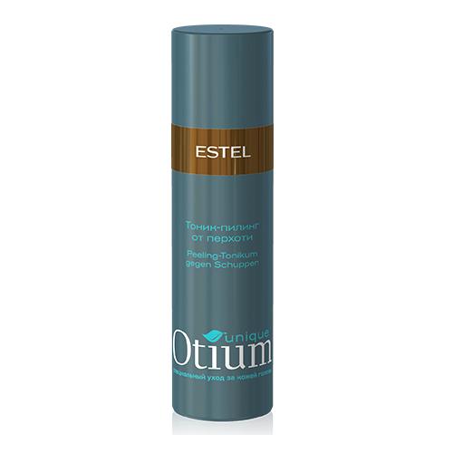 Estel Otium Unique Тоник-пилинг от перхоти 100 млOT.95Estel Otium Unique Тоник - пилинг от перхоти с комплексом Unique No dаndruff и маслом розмарина интенсивно очищает голову от перхоти, предотвращает её рецидивы, успокаивает раздражённую кожу головы. Бережно восстанавливает природный баланс кожи головы. Идеален в сочетании с Пилинг - шампунем Otium Unique от перхоти.