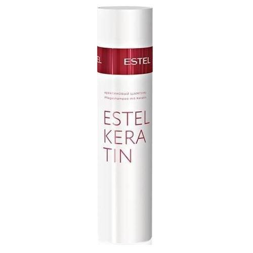 Estel Thermokeratin - Кератиновый шампунь для волос 250 млEK/S2Тип волос: Все Первый, подготовительный этап процедуры кератинизации волос TERMOKERATIN. Профессиональный шампунь для восстановления и кератинизации волос. Деликатно очищает волосы и кожу головы.Содержит гидролизованный кератин. Результат: Восстанавливает качество волос, обеспечивает волосам эластичность и мягкость.