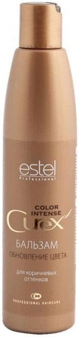 Estel Curex Color Intense Бальзам Обновление цвета для коричневых оттенков 250 млCU250/B8Бальзам «Обновление Цвета» для коричневых оттенков Estel Curex Color Intense подчеркивает глубину цвета, защищает волосы от внешних воздействий. Витаминный комплекс обеспечивает активное увлажнение и питание, восстанавливает природный гидробаланс и структуру волос. Результат: Сияющий цвет Шелковистые упругие волосы.