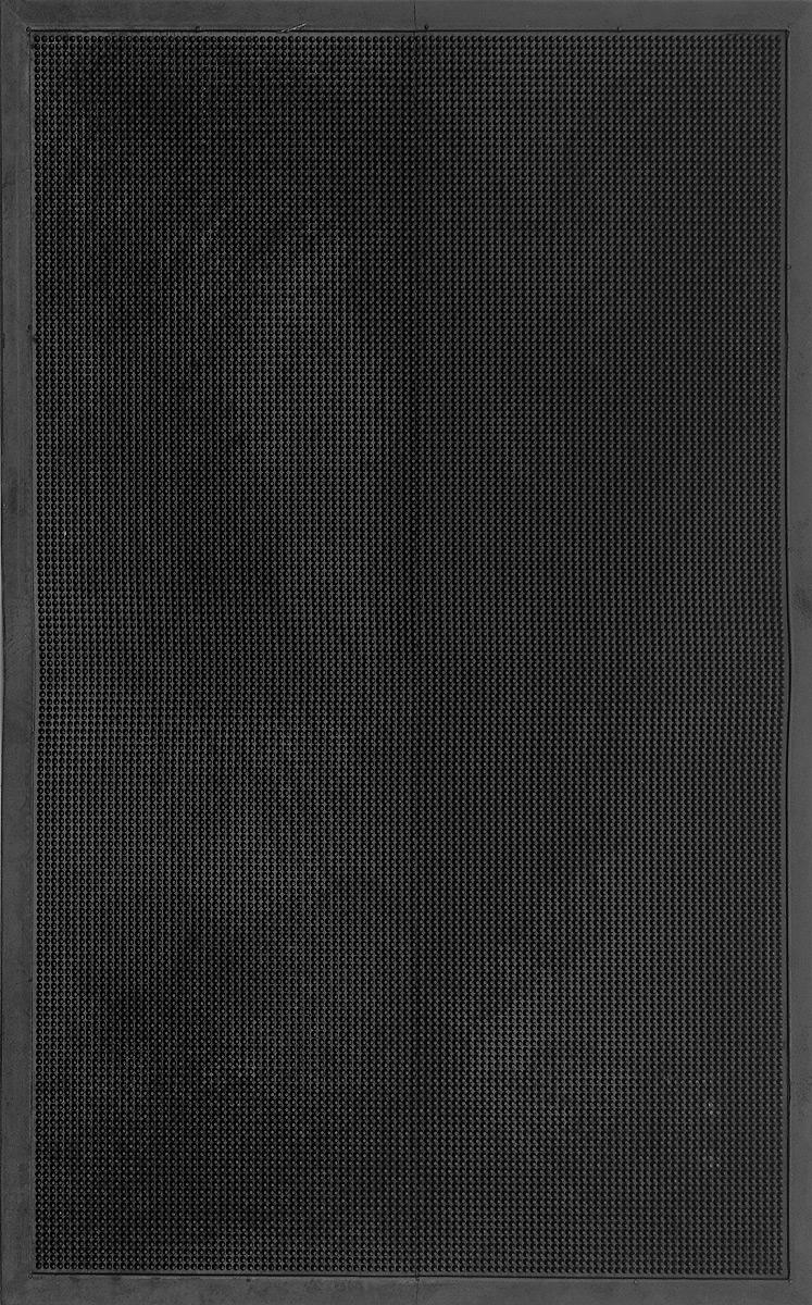 Коврик придверный SunStep Иголочки, резиновый, 120 х 80 см коврик придверный sunstep грязесборный 60 х 40 см