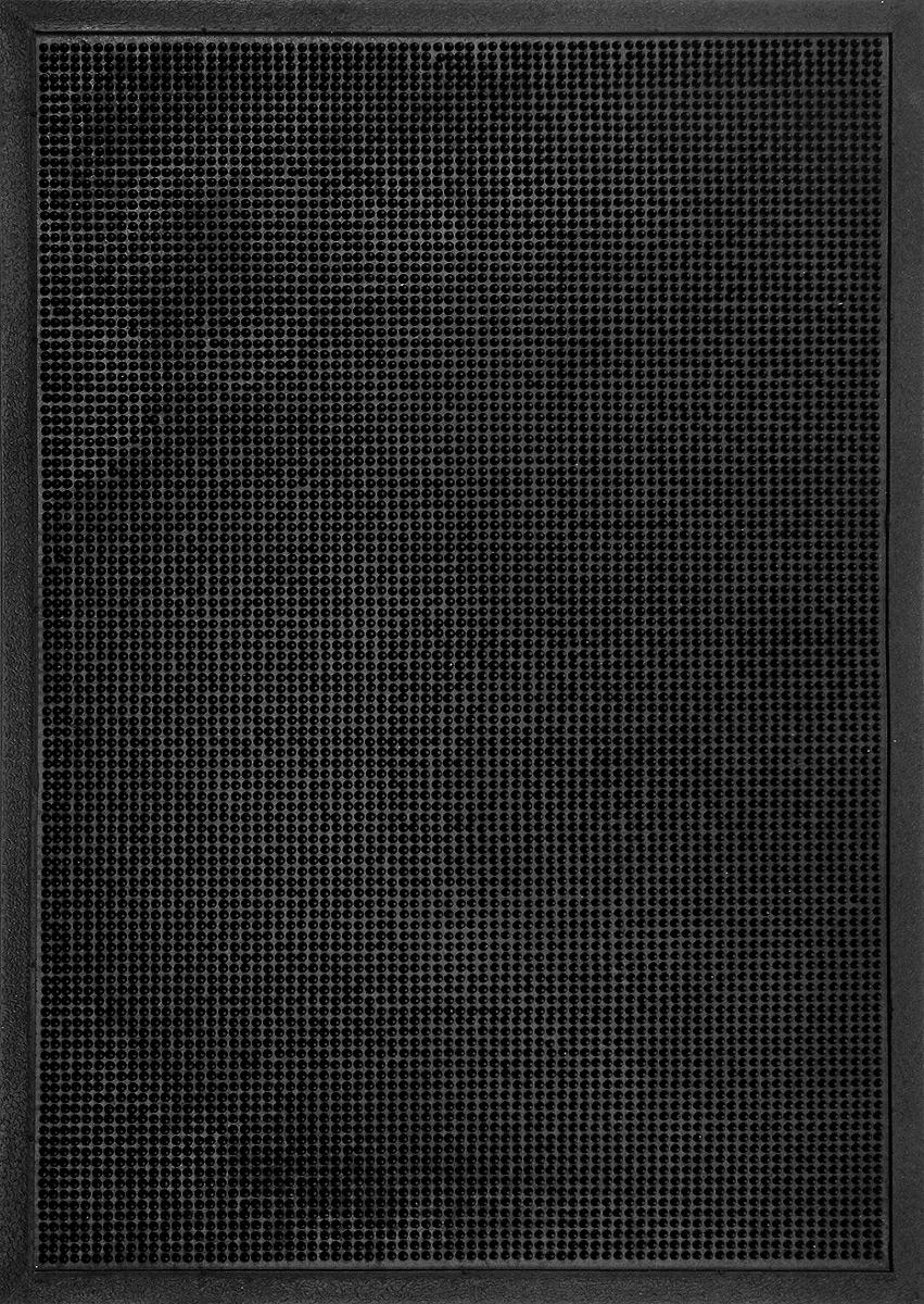 """Коврик придверный SunStep """"Иголочки"""", резиновый, 90 х 60 см 31-066"""