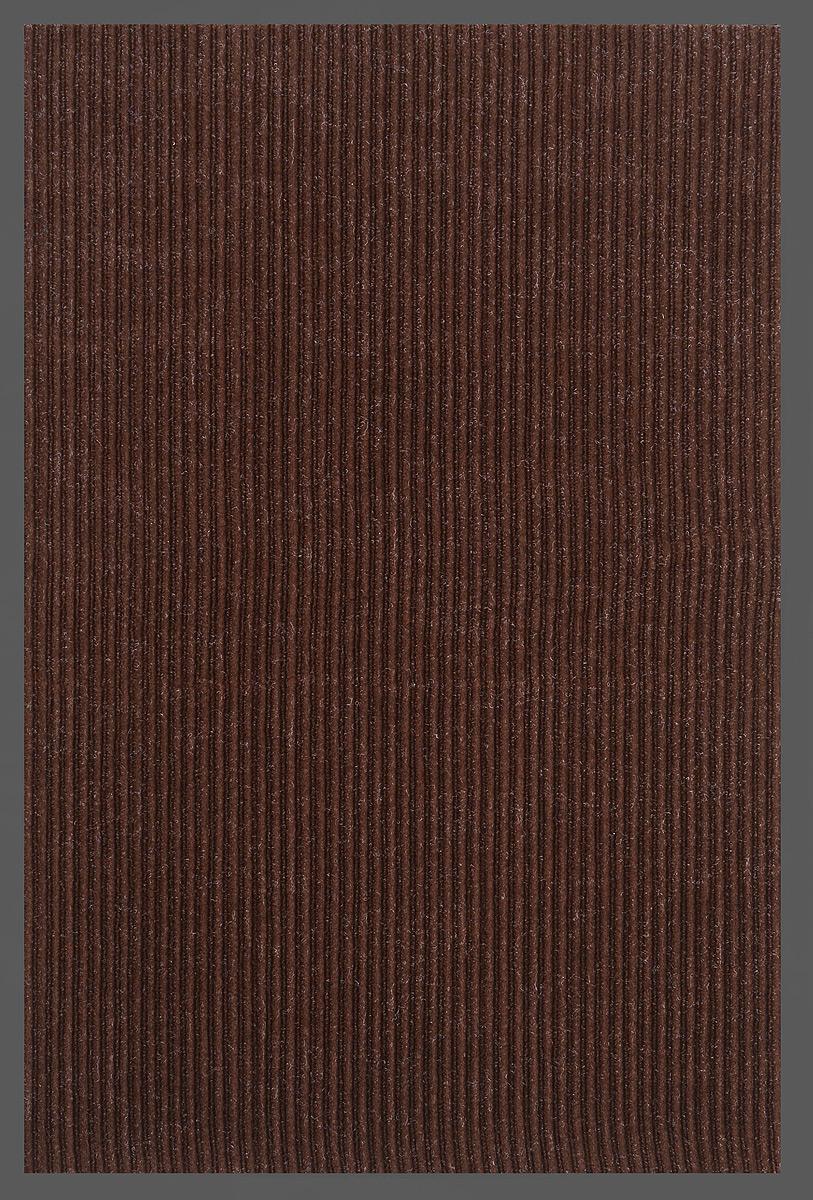 Коврик придверный SunStep Ребристый, влаговпитывающий, цвет: темно-коричневый, черный, 90 х 60 см35-052Влаговпитывающий придверный коврик SunStep Ребристый выполнен из высококачественных полимерных материалов. Он прост в обслуживании, прочный и устойчивый к различным погодным условиям. Лицевая сторона коврика мягкая. Прорезиненная основа предотвращает его скольжение по гладкой поверхности и обеспечивает надежную фиксацию. Такой коврик надежно защитит помещение от уличной пыли и грязи.