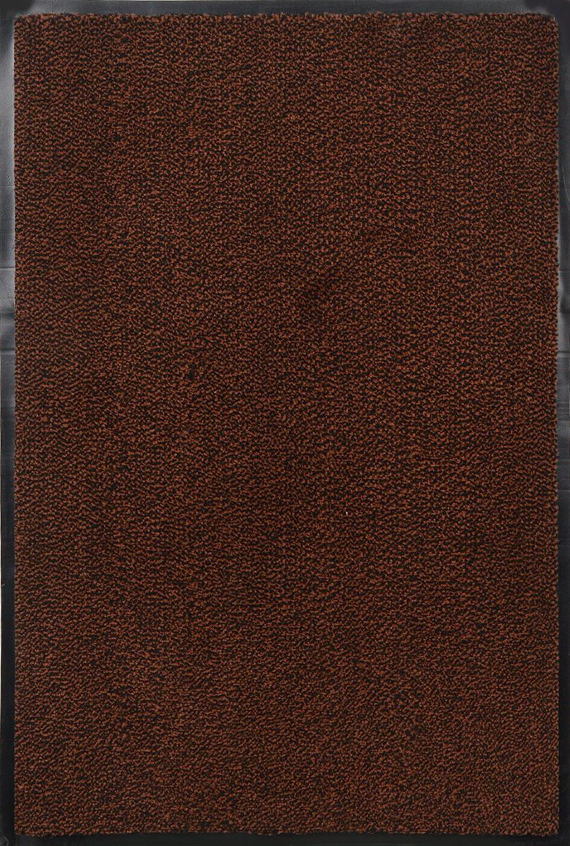 Коврик придверный SunStep Professional, влаговпитывающий, цвет: коричневый, черный, 90 х 60 см36-222Влаговпитывающий придверный коврик SunStep Professional выполнен из высококачественных полимерных материалов. Он прост в обслуживании, прочный и устойчивый к различным погодным условиям. Лицевая сторона коврика мягкая. Прорезиненная основа предотвращает его скольжение по гладкой поверхности и обеспечивает надежную фиксацию. Такой коврик надежно защитит помещение от уличной пыли и грязи.