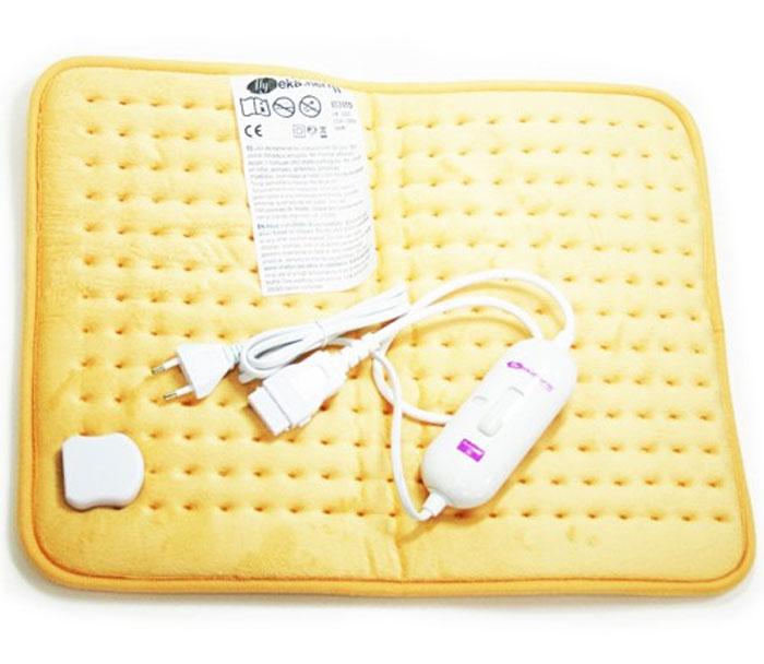 Электрогрелка Pekatherm US30TD, 37 х 49 смUS30TDУниверсальная электрогрелка для любой части тела, текстильная,размер 47х39 см. Пульт управления с разъемом,3 температурных режима от 50 до 70С. Материал полиэстер. Автоматическое отключение через 2 часа.Разрешена ручная и машинная стирка.