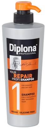 Шампунь Diplona Professional Your Repair Profi, для сухих и поврежденных волос, 600 млFS-00103Шампунь Diplona Professional Your Repair Profi - профессиональная помощьдля сухих и поврежденных волос. Основные компоненты:Протеины пшеницы - увлажняют кожу, способствуют восстановлению блеска и эластичности волос, обеспечивают защиту и питание сухих волос. Пантенол - помогает восстановить поврежденные волосяные луковицы и секущиеся концы волос. Витамин В3 - благодаря своему сосудорасширяющему действию позволяет облегчить проникновение активных веществ, что благоприятно влияет на рост волос. Экстракт черной смородины - богат витаминами А, В и С, которые питают и защищают волосы от самых корней. Характеристики: Объем: 600 мл. Производитель: Германия. Артикул: 95172.Diplona Professionalсуществует на немецком рынке более 40 лет, была разработана совместно с лучшим стилистом, неоднократным победителем конкурсов парикмахерского искусства Германии и основателем немецких салонов красоты с 60-летней историей Дитером Брюннетом.Товар сертифицирован.