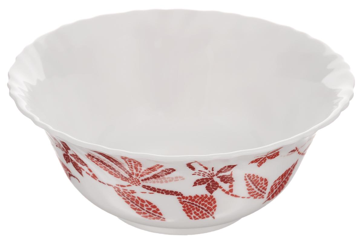 Салатник Luminarc Romancia, диаметр 12 смH2405Салатник Luminarc Romancia, изготовленный из высококачественного стекла, прекрасно впишется в интерьер вашей кухни и станет достойным дополнением к кухонному инвентарю. Салатник оформлен ярким рисунком и имеет изысканный внешний вид. Такой салатник не только украсит ваш кухонный стол и подчеркнет прекрасный вкус хозяйки, но и станет отличным подарком. Диаметр по верхнему краю: 12 см.