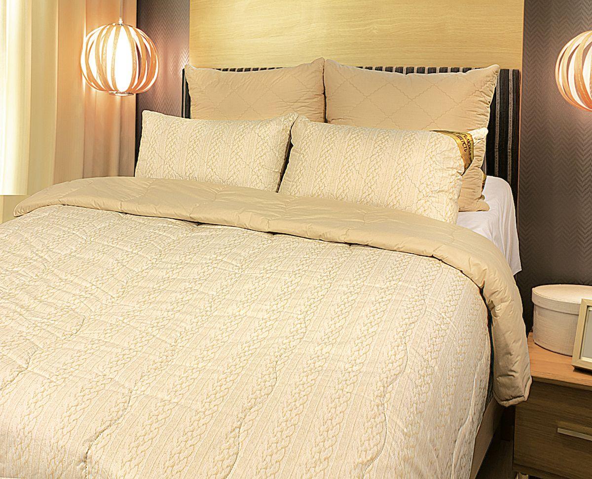 Одеяло Fashion Fantasy, наполнитель: верблюжья шерсть, цвет: бежевый, 200 х 220 см183380Чехол одеяла Fashion Fantasy выполнен из перкаля. Наполнитель - верблюжья шерсть. Одеяло простегано - значит, наполнитель внутри будет всегда распределен равномерно. Идеально подойдет тем, кто ценит мягкость и тепло. Размер: 200 х 220 см.