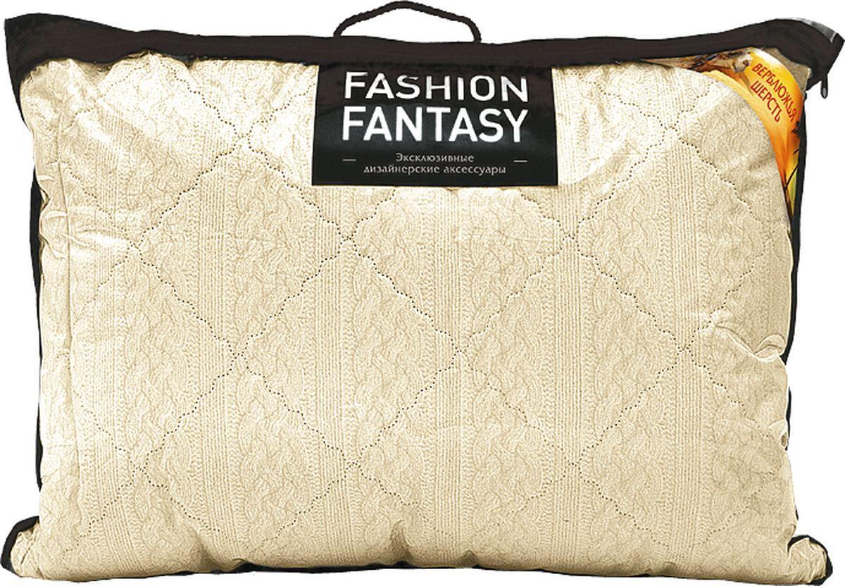 Подушка Fashion Fantasy, цвет: бежевый, 70 х 70 см183386Подушка Fashion Fantasy изготовлена из верблюжьей шерсти. Размер подушки: 70 х 70 см.