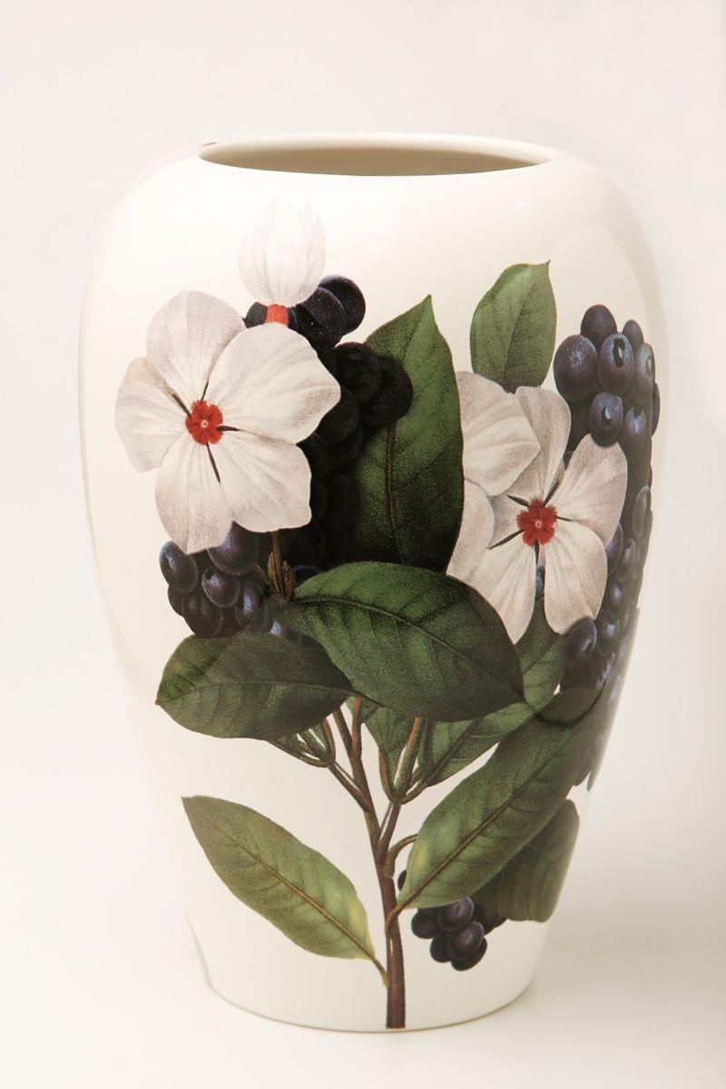 Ваза Ceramiche Viva Нежность, высота 26 см86104Изящная ваза Ceramiche Viva Нежность изготовлена из керамики и оформлена цветочным рисунком. Изделие сочетает в себе оригинальный дизайн с максимальной функциональностью. Ваза Ceramiche Viva Нежность дополнит интерьер офиса или дома и станет желанным подарком для ваших близких. Диаметр вазы: 19 см. Высота вазы: 26 см.
