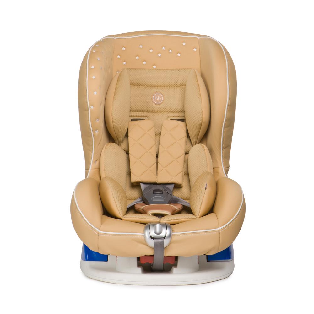 Happy Baby Автокресло Taurus V2 Beige до 18 кг4650069782940Автокресло Happy Baby Taurus V2 Beige - это удобное, повышенной комфортности кресло для детей до 18 кг (группа 0/1). Съемный чехол автокресла создан из высококачественной, приятной на ощупь эко-кожи и имеет текстильный матрасик, который создает дополнительный комфорт для ребенка. Безопасность гарантируют пятиточечные ремни безопасности с мягкими накладками, а дополнительная анатомическая вкладка позволит занять малышу уютное правильное положение. Модель имеет выдвижную опору для дополнительного угла наклона и устанавливается лицом по ходу или против движения автомобиля, в зависимости от возраста и веса ребенка. Дизайн выполнен с использованием декоративной вышивки и стежки, что создает неповторимый стильный образ автокресла. Внешний вид кресла подчеркнет изысканный вкус родителей и украсит салон вашего автомобиля.