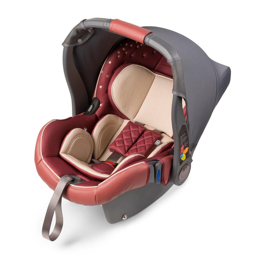 Автокресло Happy Baby Gelios V2 Bordo до 13 кг4650069780298Автокресло Happy Baby Gelios V2 - автокресло-переноска группы 0+ (для детей с рождения до 13 кг). Данная модель обладает всеми необходимыми функциями для обеспечения безопасности: трехточечными ремнями безопасности, боковой защитой и прочным корпусом. Индикатор горизонтального положения поможет правильно установить автокресло-переноску в машине. Комфорт в дороге обеспечивает вкладыш для новорожденного, солнцезащитный козырек и чехол на ножки. Благодаря полукруглому основанию удобно укачивать малыша, в качестве ограничителя качания можно использовать ручку переноски, опустив ее вниз до упора. Мягкий дышащий вкладыш устойчив к истиранию, прекрасно держит форму при сминании. Чехол прост в уходе, при необходимости легко снимается для чистки. Автокресло Happy Baby Gelios V2 без дополнительных адаптеров крепится к основанию прогулочной коляски ULTRA, что позволяет перемещать малыша, не тревожа его чуткий сон. Автокресло крепится в автомобиле с помощью трехточечных...