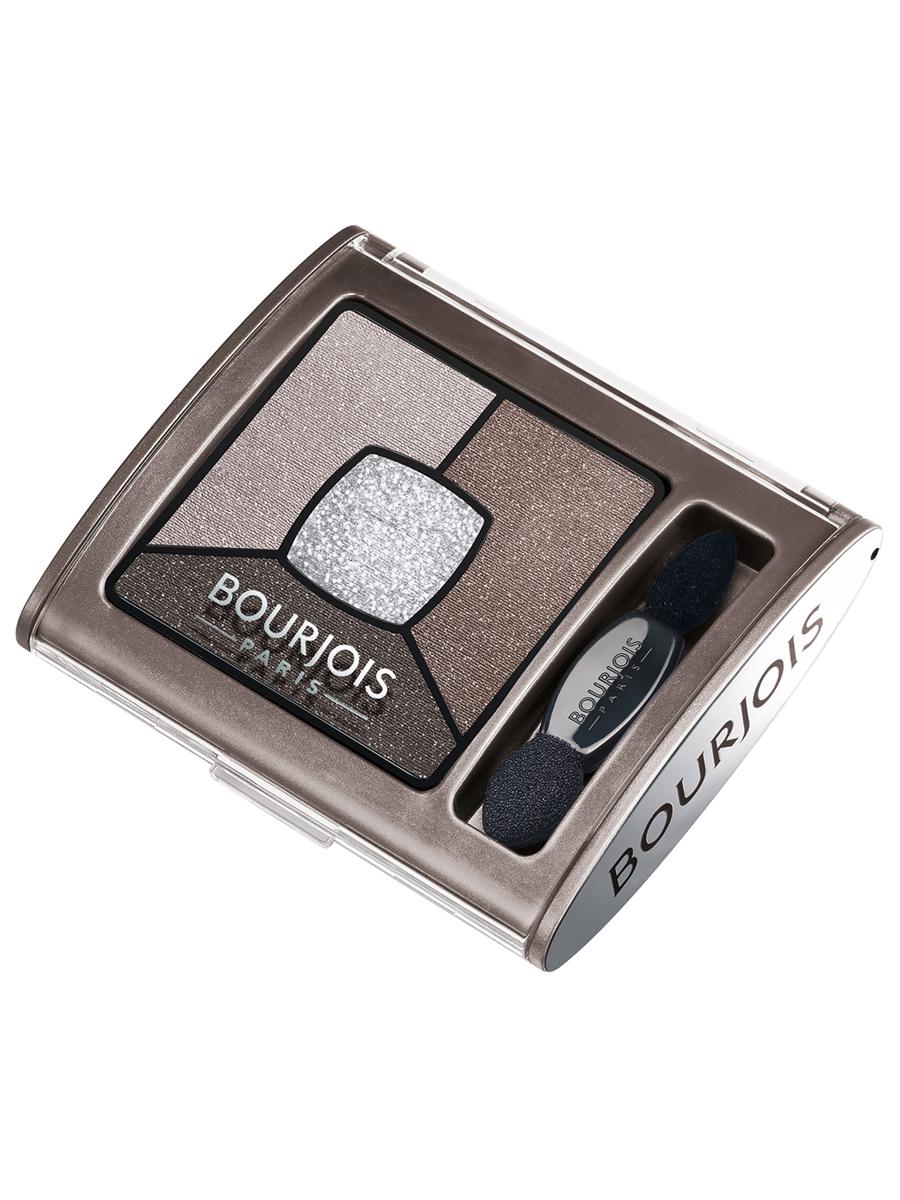 Bourjois Палитра теней для век Smoky Stories Тон 05 good nude 3 мл29101352005Палетка из четырех оттенков, которые обладают кремово-пудровой текстурой, максимально адаптируются и долго держатся на подвижном веке.