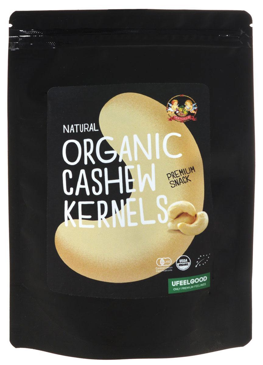 UFEELGOOD Organic Cashew Kernels органический кешью, 100 г132UFEELGOOD производит крупные целиковые ядра кешью без добавления генетически модифицированных организмов. Многие гурманы предпочитают кешью другим орехам за счет оригинальных вкусовых качеств. Этот продукт обладает не только потрясающим вкусом, но и многими полезными свойствами. За счет множества антиоксидантов в составе, кешью омолаживает организм изнутри, предотвращая процессы старения. Идеальное для организма соотношение жиров, делает орехи особенно полезными для сердца. В кешью содержатся насыщенные, полиненасыщенные и мононенасыщенные жиры. В орехах найдено большое количество растительного белка, железа и других микроэлементов. Полезные свойства кешью: благодаря содержанию жирных кислот он помогает сохранить здоровье сердца и сосудов, магний способен поддерживать здоровье костей и зубов. Он расслабляет кровяные сосуды, понижает давление. Значительное количество меди сохраняет кости, суставы и кровеносные сосуды, а антиоксиданты предотвращают старение кожи...