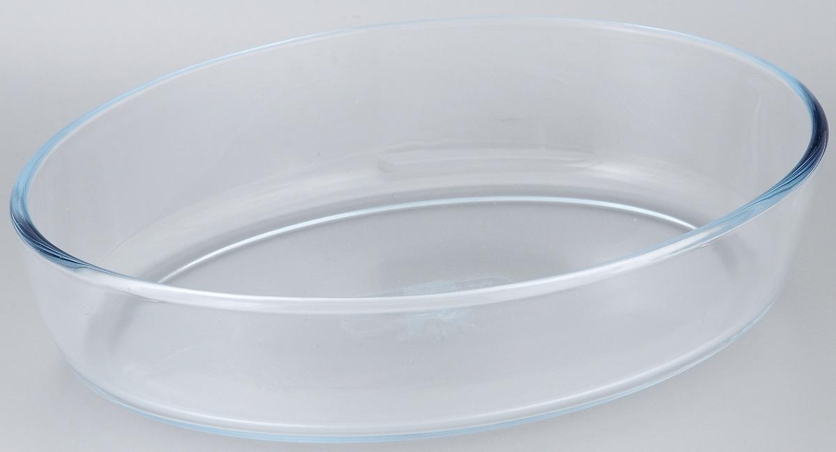 Форма для запекания Pyrex Classic, 26 х 18 см222B000Овальная форма для запекания Pyrex Classic изготовлена из жаропрочного стекла, которое выдерживает температуру до +230°С. Форма предназначена для приготовления горячих блюд. Не имеет ручек. Материал изделия гигиеничен, прост в уходе и обладает высокой степенью прочности. Форма идеально подходит для использования в духовках, микроволновых печах, холодильниках и морозильных камерах. Внутренний размер формы: 25 х 16,5 см. Толщина стенки: 0,5 см. Высота стенки формы: 6 см.