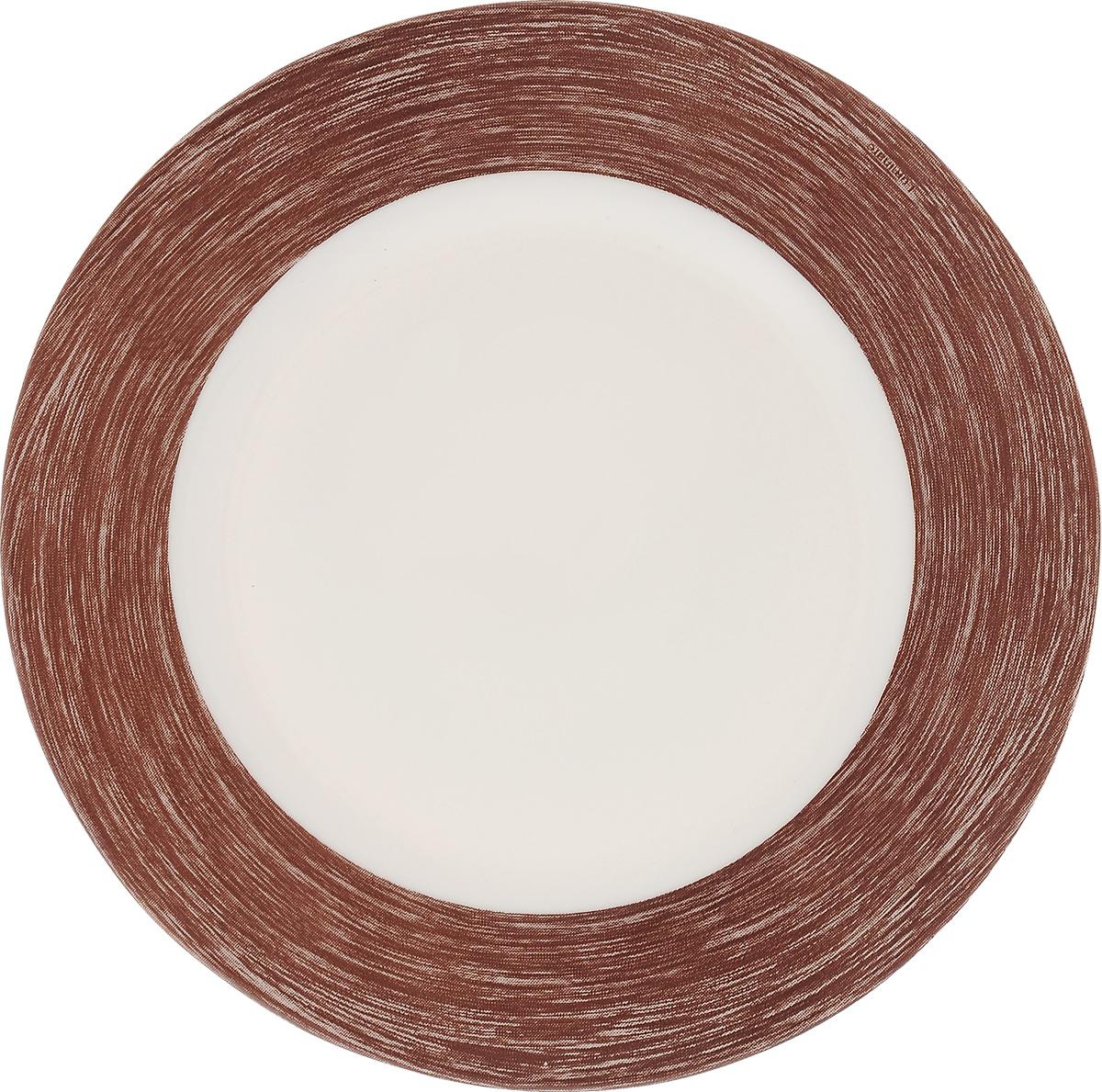 Тарелка десертная Luminarc Color Days Chocolate, 19 см115510Десертная тарелка Luminarc Color Days Chocolate, изготовленная из ударопрочного стекла, имеет изысканный внешний вид. Такая тарелка прекрасно подходит как для торжественных случаев, так и для повседневного использования. Идеальна для подачи десертов, пирожных, тортов и многого другого. Она прекрасно оформит стол и станет отличным дополнением к вашей коллекции кухонной посуды. Диаметр тарелки (по верхнему краю): 19 см.