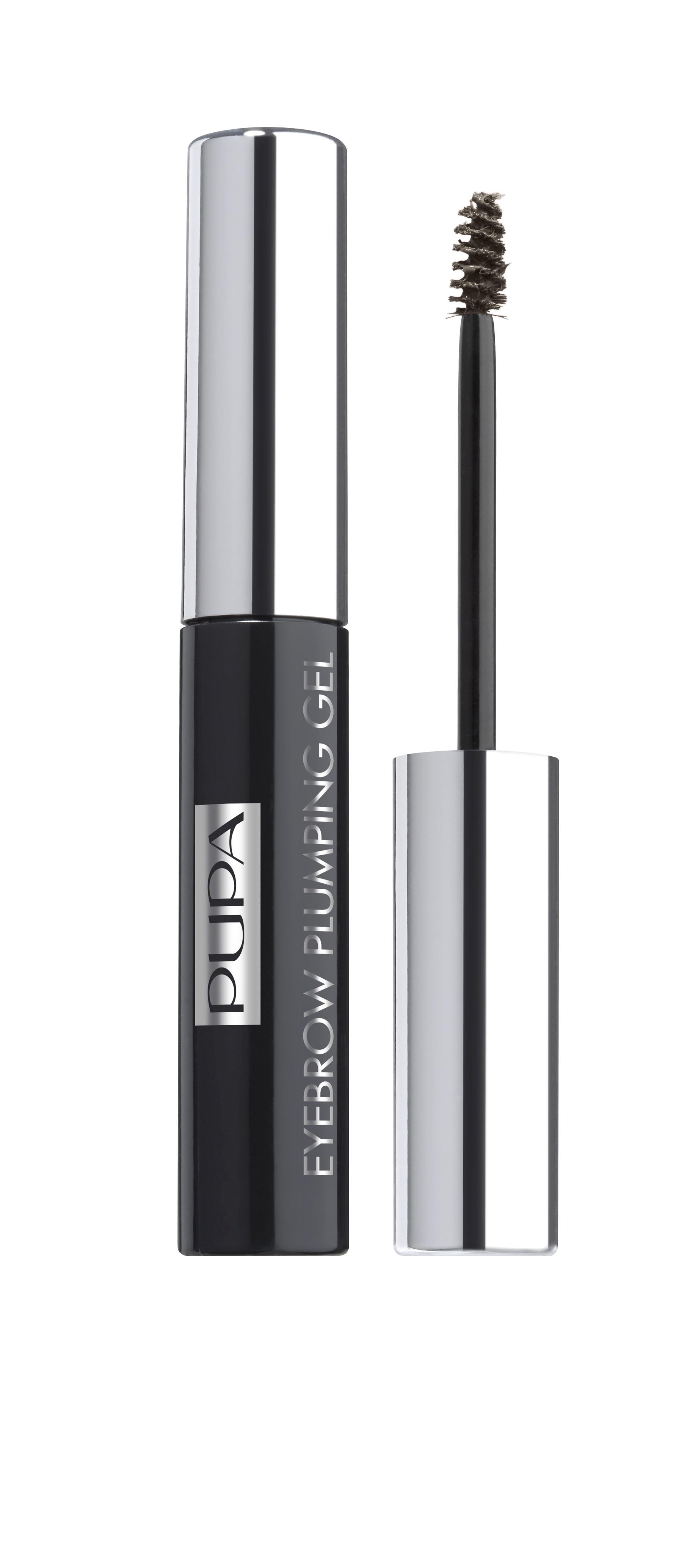 Pupa Пигментированный гель для бровей EYEBROW PLUMPING GEL № 003 темно-коричневый, 4 мл1301207Пигментированный фиксирующий гель для бровей EYEBROW PLUMPING GEL. Мягкий, слегка пигментированный, устойчивый гель для акцентирования и фиксации бровей в макияже. Формула: Включает специальные микроволокна, которые придают объем (плотность) бровям, без эффекта утяжеления. Увлажняющие ингредиенты обеспечивают ощущение свежести и комфорта. Специальные пигменты - для мягкого равномерного окрашивания. Профессиональный аппликатор – щеточка с короткими щетинами равномерно распределяет гелевую структуру, нежно расчесывает брови, фиксируя их направление.