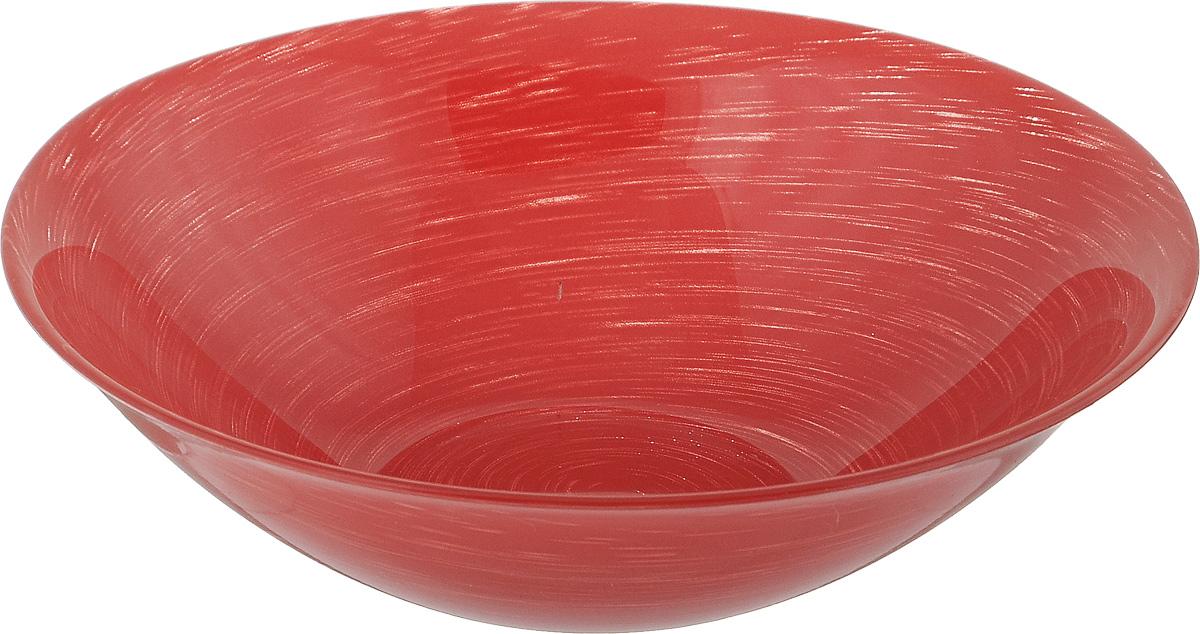 Салатник Luminarc Stonemania Red, диаметр 16,5 смH3554Великолепный круглый салатник Luminarc Stonemania Red, изготовленный из ударопрочного стекла, прекрасно подойдет для подачи различных блюд: закусок, салатов или фруктов. Такой салатник украсит ваш праздничный или обеденный стол, а оригинальное исполнение понравится любой хозяйке. Диаметр салатника (по верхнему краю): 16,5 см.