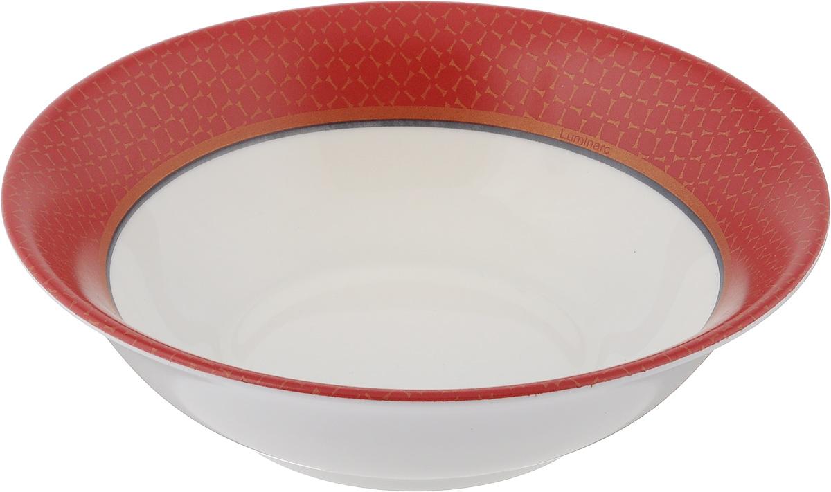 Салатник Luminarc Alto Rubis, диаметр 16 см115610Салатник Luminarc Alto Rubis выполнен из ударопрочного стекла и имеет классическую круглую форму. Он прекрасно впишется в интерьер вашей кухни и станет достойным дополнением к кухонному инвентарю. Салатник Luminarc Alto Rubis подчеркнет прекрасный вкус хозяйки и станет отличным подарком. Диаметр салатника (по верхнему краю): 16 см.