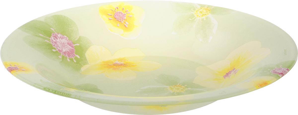 Тарелка глубокая Luminarc Poeme Anis, диаметр 21,5 смJ0304Глубокая тарелка Luminarc Poeme Anis выполнена из ударопрочного стекла и имеет классическую круглую форму. Она прекрасно впишется в интерьер вашей кухни и станет достойным дополнением к кухонному инвентарю. Тарелка Luminarc Poeme Anis подчеркнет прекрасный вкус хозяйки и станет отличным подарком. Диаметр тарелки (по верхнему краю): 21,5 см.