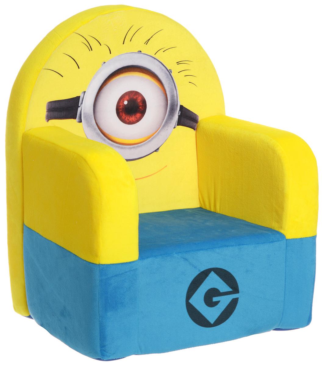 СмолТойс Мягкая игрушка Кресло Гадкий Я 53 см