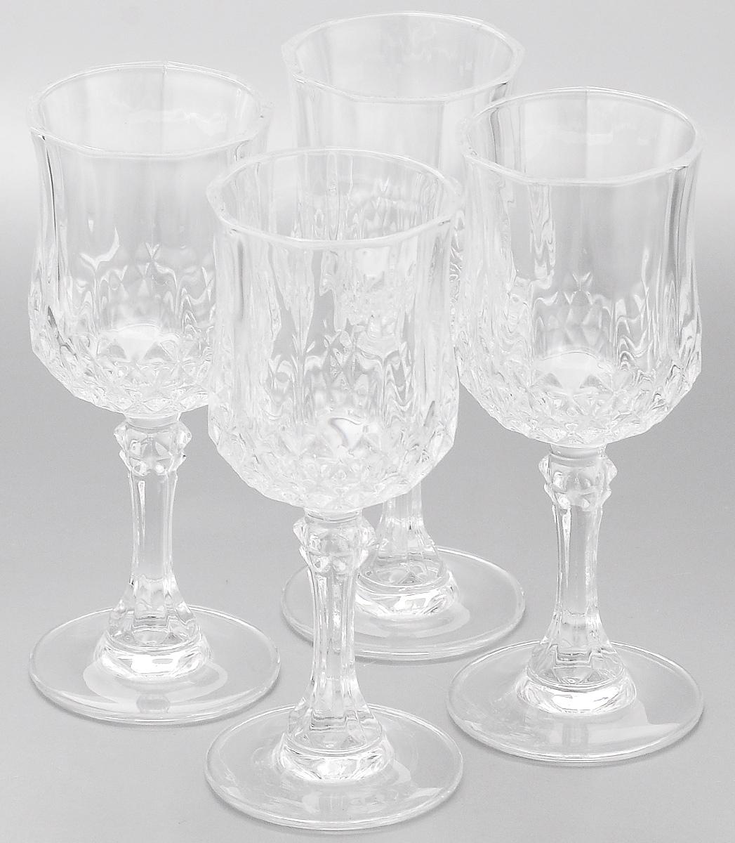 "Набор фужеров Cristal d'Arques ""Longchamp"", 250 мл, 4 шт G5584"