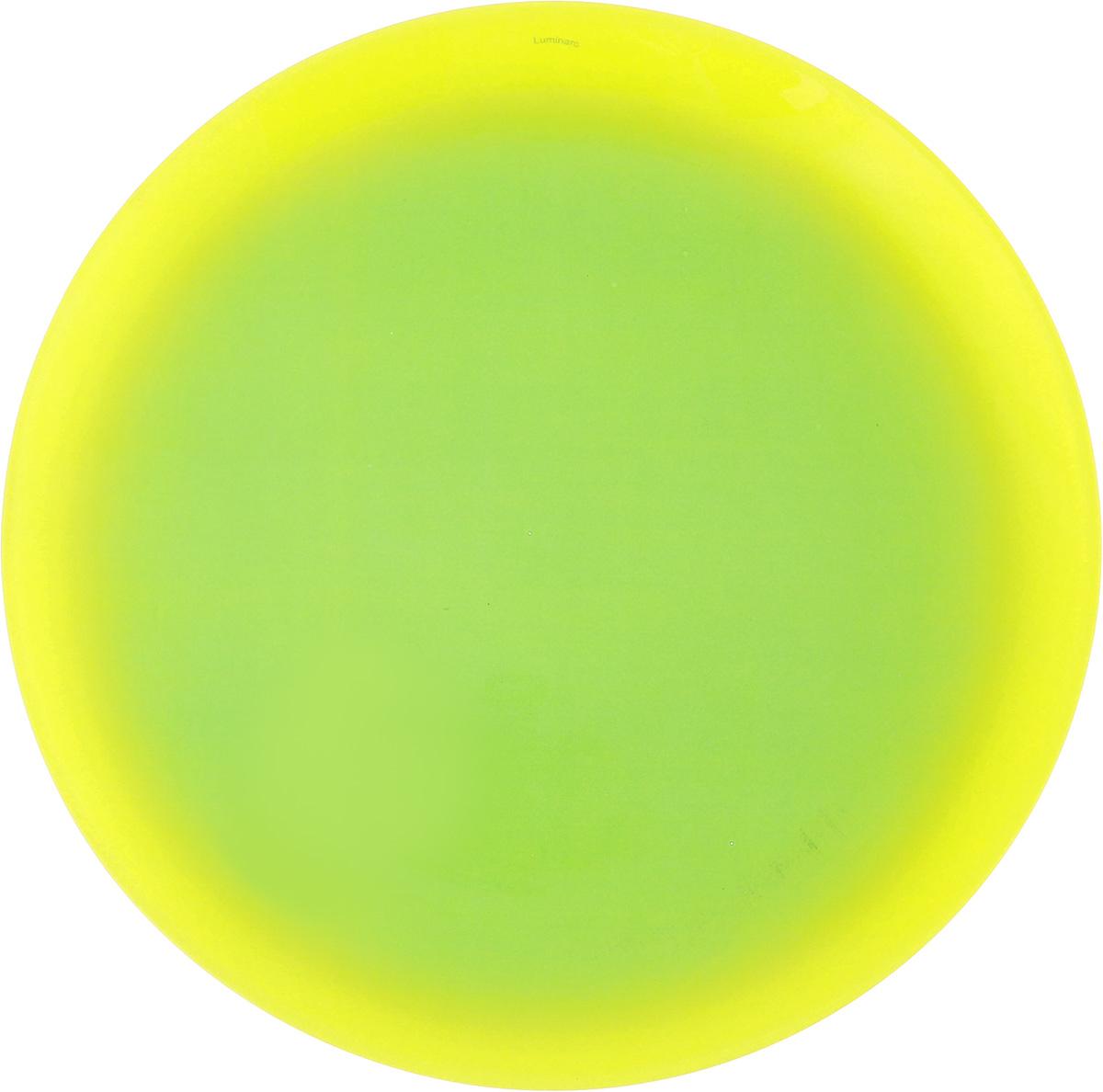Тарелка обеденная Luminarc Fizz Mint, диаметр 25 смG9550Обеденная тарелка Luminarc Fizz Mint, изготовленная из ударопрочного стекла, имеет изысканный внешний вид. Яркий дизайн придется по вкусу и ценителям классики, и тем, кто предпочитает утонченность. Тарелка Luminarc Fizz Mint идеально подойдет для сервировки вторых блюд из птицы, рыбы, мяса или овощей, а также станет отличным подарком к любому празднику. Диаметр тарелки (по верхнему краю): 25 см.