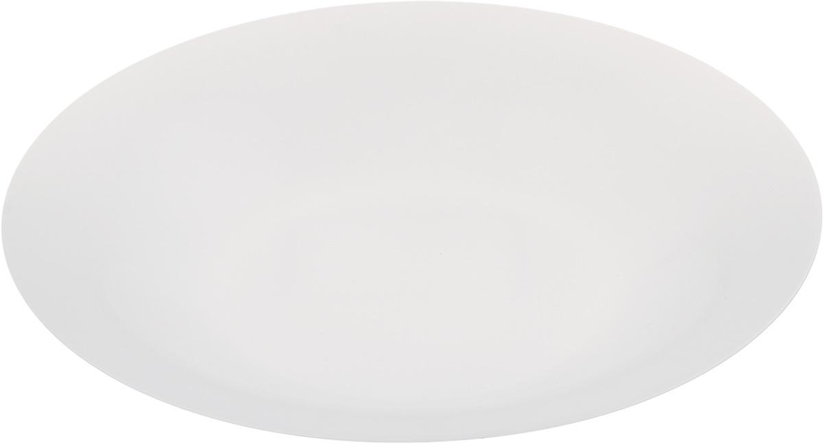 Тарелка глубокая Luminarc Olax, диаметр 21 смL1355Глубокая тарелка Luminarc Olax выполнена из ударопрочного стекла и имеет классическую круглую форму. Она прекрасно впишется в интерьер вашей кухни и станет достойным дополнением к кухонному инвентарю. Тарелка Luminarc Olax подчеркнет прекрасный вкус хозяйки и станет отличным подарком. Диаметр тарелки (по верхнему краю): 21 см.