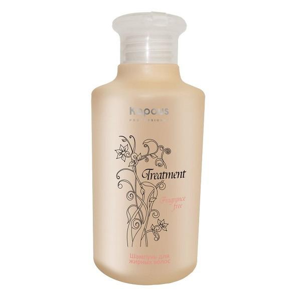 Kapous Treatment Шампунь для жирных волос 250 млKap297Шампунь для жирных волос Kapous серии Treatment - это эффективное косметическое средство, позволяющее бережно очищать кожу и волосы от загрязнений, устранять сальный блеск и восстанавливать работу сальных желез, обеспечивая надежный защитный и увлажняющий эффект. Входящий в состав Экстракт апельсина способствует регенерацииклеток, обладаетпротивовоспалительным действием, снижает активность сальных желез, тем самым замедляет засаливание волос, а так же содержит много питательных веществ, таких как кальций, фосфор, железо и калий. Витамин А, витамины семейства В и большое количество витамина С, содержащиеся в экстракте апельсина, возвращают волосам естественную влажность, эластичность и блеск, успокаивают кожу головы, обеспечивая рост здоровых волос. Активные растительные компоненты, обладающие вяжущими свойствами, нормализуют деятельность сальных желез и снижают производство себума. С первого же применения деятельность сальных желез нормализуется, волосы становятся легкими. Регулярное...