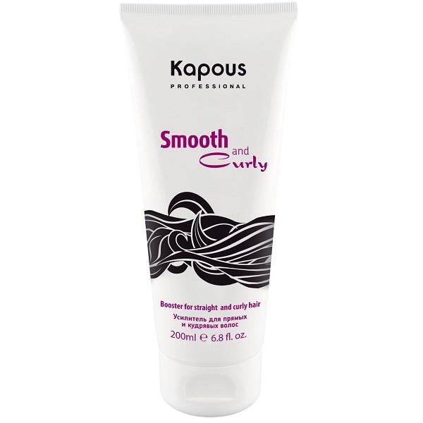 Kapous Усилитель для прямых и кудрявых волос Smooth and Curly 200 млFS-00897Усилитель Amplifier из серии Smooth and Curly от Капус – это универсальный стайлингово-защитный продукт, позволяющий моделировать удивительно упругие завитки или дарить прядям потрясающую гладкость. Усилитель подходит для укладки волос любого типа и гарантирует им:полную защиту от негатива высоких температур;аккуратный вид на протяжении дня;дополнительные уход и увлажнение;глубокое кондиционирование и смягчение.Состав Amplifier обогащен натуральными маслами, улучшающими качество локонов, и растительными аминокислотами, укрепляющими волосы изнутри. За счет нежной консистенции средство легко наносится, не перегружает пряди, а также не забирает их природной пышности. С ним локоны отлично держат форму и не теряют структурности, а гладкие пряди – не пушатся и не завиваются даже при высокой влажности.