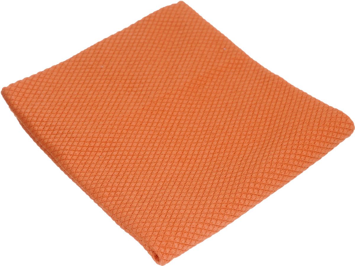 Салфетка чистящая Sapfire CleaningX-treme Сloth, цвет: оранжевый, 35 х 40 смS03301004Салфетка Sapfire CleaningX-treme Сloth предназначена для бережной очистки от сильных загрязнений. Великолепно удаляет пыль и грязь с любой поверхности. Клиновидные микроскопические волокна захватывают и легко удерживают частички пыли, жировой и никотиновый налет, микроорганизмы, в том числе болезнетворные и вызывающие аллергию.Материал салфетки: микрофибра (85% полиэстер и 15% полиамид) - обладает уникальной способностью быстро впитывать большой объем жидкости (в 8 раз больше собственной массы). Салфетка великолепно моет и сушит. Протертая поверхность становится идеально чистой, сухой, блестящей, без разводов и ворсинок.Размер салфетки: 35 х 40 см.
