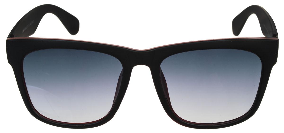 Очки солнцезащитные женские Fabretti, цвет: черный, бордовый. A1604-19BM8434-58AEСолнцезащитные женские очки Fabretti выполнены с линзами из высококачественного пластика.Используемый пластик не искажает изображение, не подвержен нагреванию и вредному воздействию солнечных лучей, защищает от бликов, повышает контрастность и четкость изображения, снижает усталость глаз и обеспечивает отличную видимость. Линзы имеют степень затемнения Cat. 3.Пластиковая оправа очков выполнена в черном цвете а внутренняя сторона в бордовом цвете. Оправа легкая, прилегающей формы и поэтому не создает никакого дискомфорта.Такие очки защитят глаза от ультрафиолетовых лучей, подчеркнут вашу индивидуальность и сделают ваш образ завершенным.