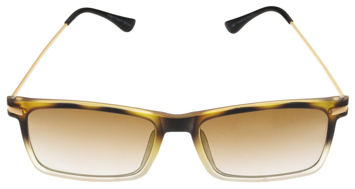 Очки солнцезащитные мужские Fabretti, цвет: бежевый, коричневый. A1601-7632.4000.10 RedСолнцезащитные мужские очки Fabretti выполнены с линзами из высококачественного пластика.Используемый пластик не искажает изображение, не подвержен нагреванию и вредному воздействию солнечных лучей, защищает от бликов, повышает контрастность и четкость изображения, снижает усталость глаз и обеспечивает отличную видимость. Линзы имеют степень затемнения Cat. 3.Оправа легкая, прилегающей формы и поэтому не создает никакого дискомфорта.Такие очки защитят глаза от ультрафиолетовых лучей, подчеркнут вашу индивидуальность и сделают ваш образ завершенным.