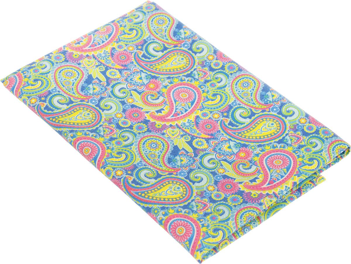 Ткань для пэчворка Артмикс Пейсли, цвет: розовый, синий, зеленый, 48 х 50 см531-105Ткань Артмикс Пейсли, изготовленная из 100% хлопка, предназначена для пошива одеял, покрывал, сумок, аппликаций и прочих изделий в технике пэчворк. Также подходит для пошива кукол, аксессуаров и одежды.Пэчворк - это вид рукоделия, при котором по принципу мозаики сшивается цельное изделие из кусочков ткани (лоскутков). Плотность ткани: 120 г/м2.УВАЖАЕМЫЕ КЛИЕНТЫ!Обращаем ваше внимание, на тот факт, что размер отреза может отличаться на 1-2 см.