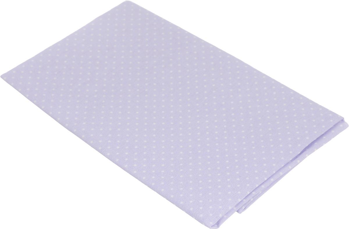 Ткань для пэчворка Артмикс Мелкий горошек, цвет: сиреневый, белый, 48 х 50 смAM555005Ткань Артмикс Мелкий горошек, изготовленная из 100% хлопка, предназначена для пошива одеял, покрывал, сумок, аппликаций и прочих изделий в технике пэчворк. Также подходит для пошива кукол, аксессуаров и одежды. Пэчворк - это вид рукоделия, при котором по принципу мозаики сшивается цельное изделие из кусочков ткани (лоскутков). Плотность ткани: 120 г/м2. УВАЖАЕМЫЕ КЛИЕНТЫ! Обращаем ваше внимание, на тот факт, что размер отреза может отличаться на 1- 2 см.