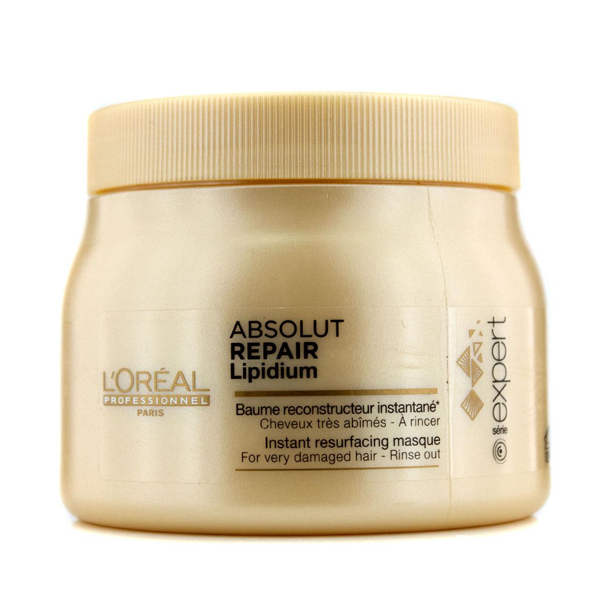 L'Oreal Professionnel Маска, восстанавливающая структуру волос на клеточном уровне Expert Absolut Repair Lipidium - 500 мл