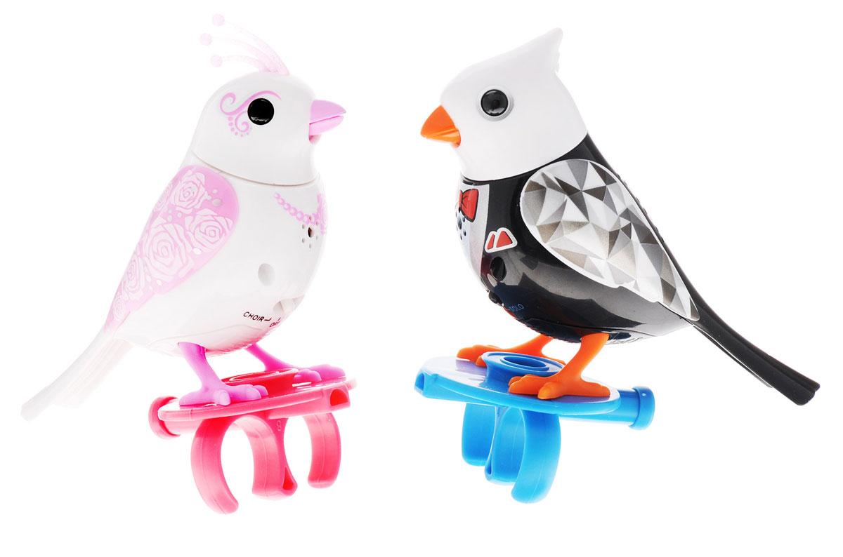 DigiFriends Интерактивная игрушка Птички жених и невеста 88388