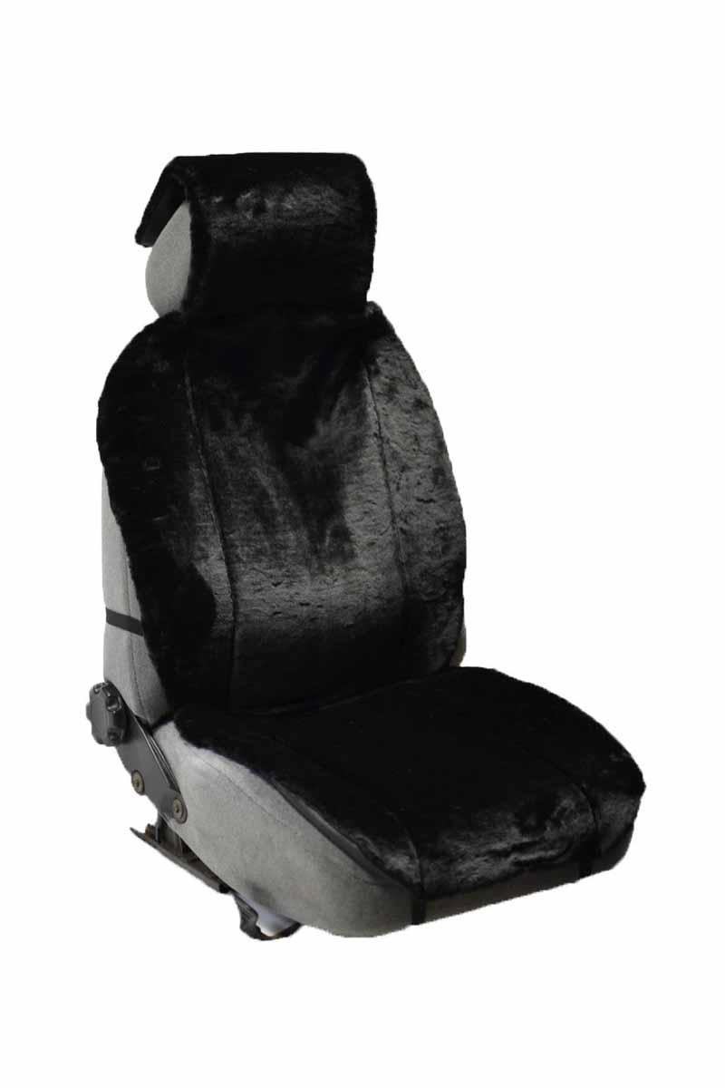 Накидка Auto premium на полное сидение, цвет: черный. 4710147101Накидка на сиденье автомобиля выполненна из искуственного меха. Универсальный размер позволит установить накидку на любой тип седения автомобиля. Незаменимый аксесуар при эксплатации автомобиля в зимний период.