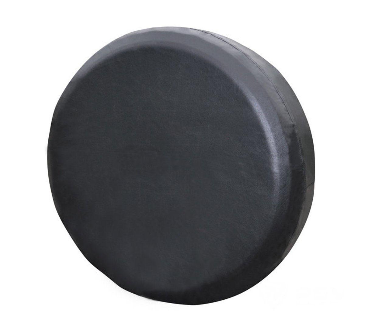 Чехол на запасное колесо Auto premium. Размер S (64-69 см), цвет: черный. 7720277202Чехол на запасное колесо автомобиля ( Размер S), выполненый из высококачественной экокожи, прекрасно охранит «запаску» от негативного влияния погодных условий: пыль грязь, дождь, при этом чехол не потрескается на морозе.Крепится с помощью шнурка.