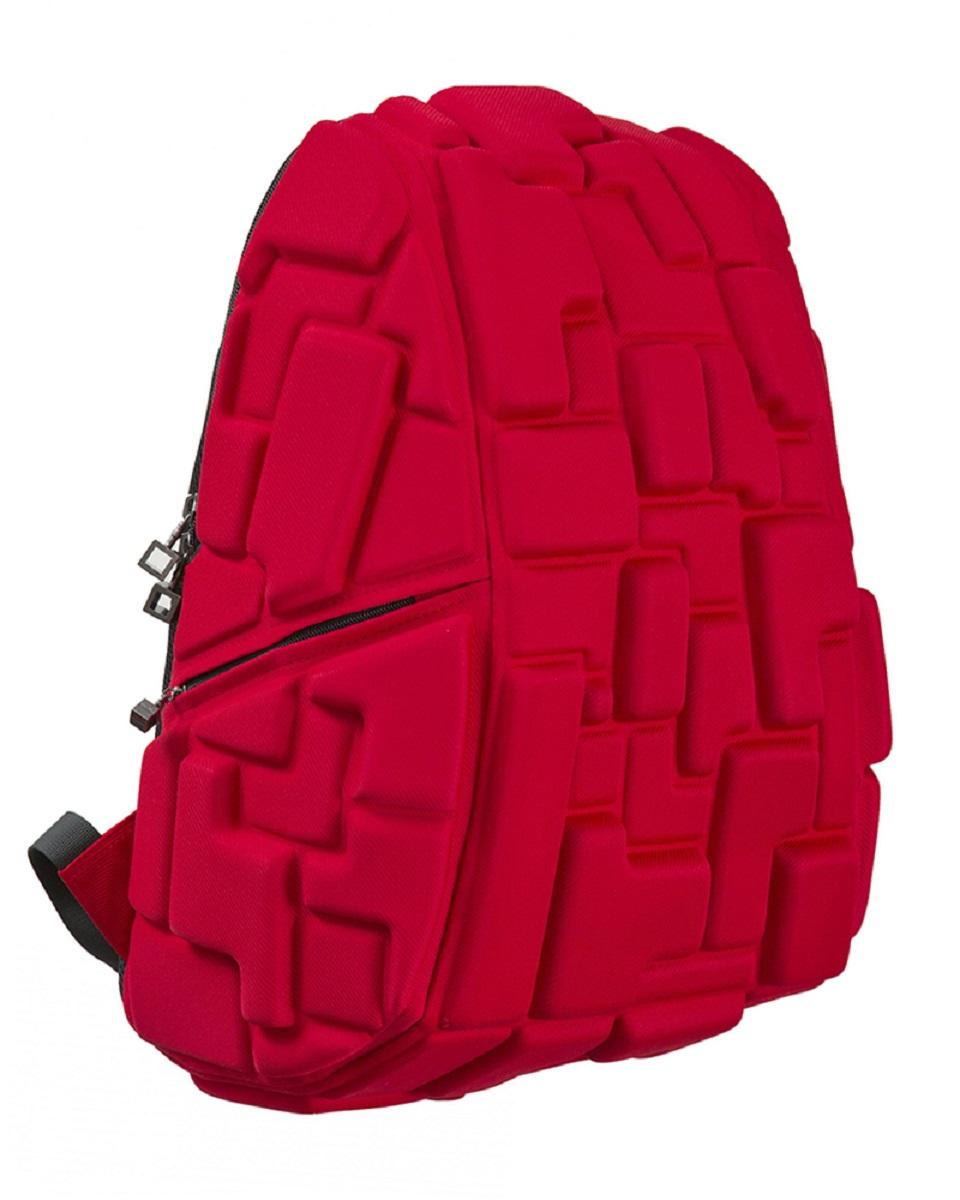 Рюкзак молодежный MadPax Blok Full, цвет: красный, 33 лSVCB-RT4-502Стильный и практичный рюкзак уместный в ритме большого города. Основное отделение закрывается на молнию. Внутри изделия есть отделение для ноутбука с максимальным размером диагонали 17 дюймов. По бокам - два дополнительных кармана на молнии. Модель помимо лямки для переноски в руке, мягких и широких регулируемых бретелей снабжена фиксацией на груди. Полностью вентилируемая и ортопедическая спинка создаёт дополнительный комфорт Вашей спине.